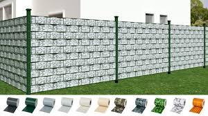 Tectake Garden Fence Screening Privacy Shade Youtube