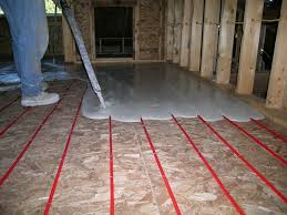 install radiant floor heating