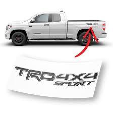 Trd 4x4 Sport Decal