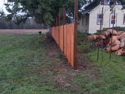 Determining A Straight Fence Line Hb Fence Decking Construction Click Here