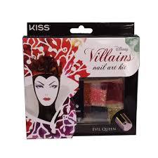 disney villains nail art kit evil queen