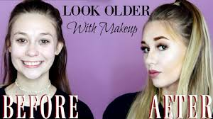 how to apply makeup look older