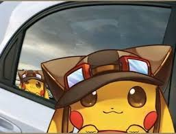 Pikachu Car Decal Window Sticker Bumper Laptop Cell 6 X 4 Pokemon Vinyl Ebay