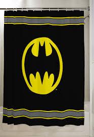 Batman Kids Bathroom Decorative Fabric Shower Curtain 72 X 72 Walmart Com Walmart Com