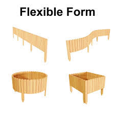 Garden Outdoors Decorative Fences Floranica Spiked Log Roll Border As Easy Plug In Fence Palisade Lawns And Paths Color Natural Weatherproof Impregnated Height 10 Cm 203 Cm Long As Wooden Edging For Flower Beds