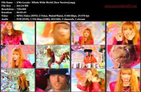 A'Me Lorain - Whole Wide World (New Version) » MusicVideo80.com
