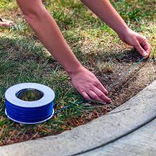 Electric Dog Fence By Goodboy Invisible Perimeter Fence Prevents Pets Escaping Underground System Is Easy To Set Up Dog Fence Puppy Training Tips Wire Fence
