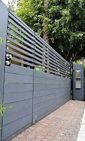 Building A House Is A Process And Each Share Involves Big Labour Of Love Even If It Is Just The Fence Gate Yes Fence Design Modern Fence Design Driveway Gate