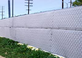 Construction Site Sound Barrier Fence Panels Enoise Control
