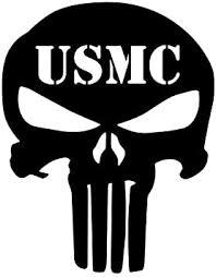 Amazon Com 32 Willys Usmc Punisher Skull Decal Premium 5 White Patriot Molon Labe Sniper Military Iii Truck Suv Motorcycle Helmet Vans Wall Art Laptop Notebook Tablet Automotive