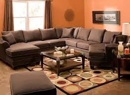 foresthill 5 pc microfiber sectional