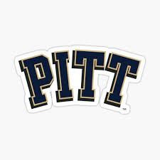 University Of Pittsburgh Stickers Redbubble