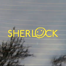 Sherlock Holmes Smiley Vinyl Decal Sticker Free Us Shipping For Car Laptop Tablets Etc