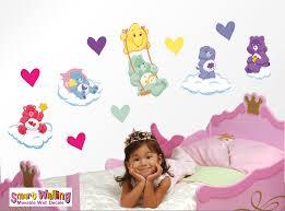 Care Bear Wall Stickers Totally Movable Baby Nursery Themes Bear Wall Decal Baby Nursery