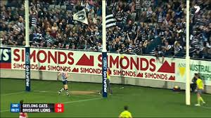 Round 23 AFL - Geelong Cats vs Brisbane ...