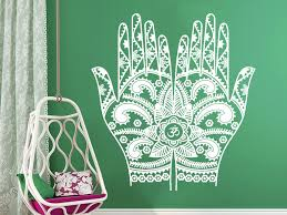 Henna Mehndi Hands Arabic Bahraini Henna Wall Art Sticker Decal For Sale Online Ebay