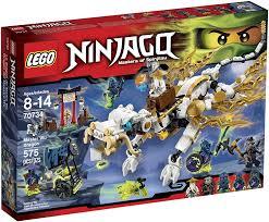 Amazon.com: Lego Ninjago 70734 Master WU Dragon Ninja Building Kit ...