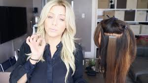my favorite hair extension types and