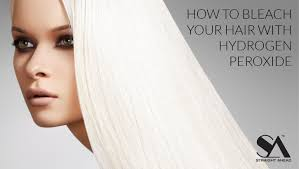 how to bleach your hair with hydrogen
