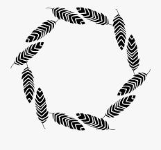 fl frame borders vector black