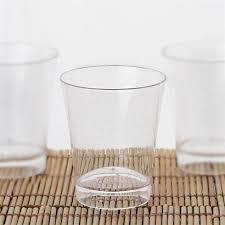 disposable plastic shot glasses