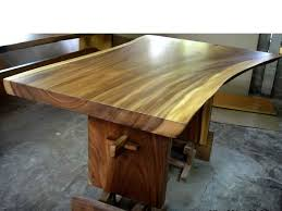 live edge dining table from indonesia