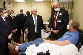 Pence lauds Minnesota's COVID-19 fight in Mayo Clinic visit