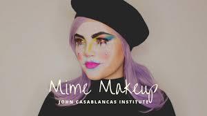jci halloween mime makeup tutorial