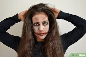 how to apply zombie makeup with
