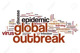 Global Outbreak Word Cloud Concept Stock Photo, Picture And ...