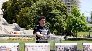 Marion Smith addresses Tiananmen Square Massacre Rally - YouTube