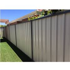 China Color Steel Fence Panels Color Steel Sheet Fence Colorbond Fencing For Sale China Fence Panel Safety Fencing