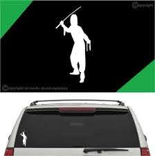Ninja Auto Decal Car Sticker A1 Topchoicedecals