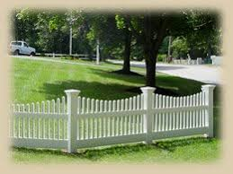 Home Remodeling Improvement Scalloped White Picket Fence Vinyl Too Great Design Ideas Hubpages