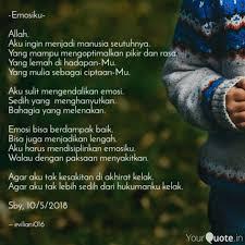 emosiku allah aku in quotes writings by evi liani yourquote