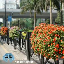 Fence Flower Pots 2018 Fence Flower Pots Decoration Ideas With Fence Green Plastic Balcony Flower Planters View Fence Flower Pots Sol Product Details From Taizhou Sol Plastics Co Ltd On Alibaba Com