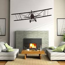 New Airplane Wall Decals Personalized Baby Vinyl Nursery Art Wall Stickers For Boy Kids Rooms Murals Home Decoration Love Wall Decals Love Wall Stickers From Kity12 1 91 Dhgate Com