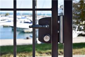 Surface Mounted Us Mortise Cylinder Gate Lock Usa Locinox