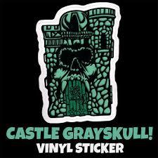 24 51 Misfits Skeltor Mashup Cartoon Castle Grayskull Vinyl Decal Retro He Man