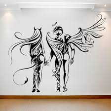Angel And Demon On The Wall Best Deals With Free Uk Standard Delivery Mizzli