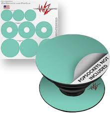 Decal Style Vinyl Skin Wrap 3 Pack For Popsockets Solids Collection Seafoam Green Popsocket Not Included By Wraptorskinz Walmart Com Walmart Com
