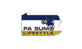 Pa Sumo Flag Logo Vinyl Decal 4in X 3in Pa Sumo Lifestyle