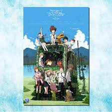 Digimon Adventure Anime Hd Canvas Print Wall Poster Scroll Home Decor Cosplay