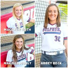 Sulphur Softball Q&A with Abby Beck, MaKella Mobly, and Macenzie Ruth  Presented By Carter County Dodge