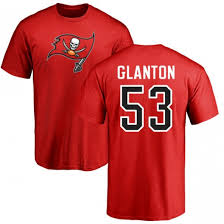 Men's Adarius Glanton Tampa Bay Buccaneers 53 Pro Line Red Name ...