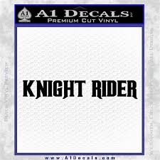 Knight Rider Tx1 Decal A1 Decals