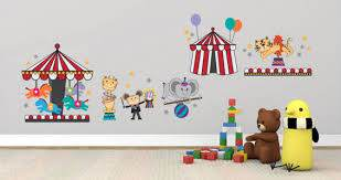 Circus Show Wall Decal Pack Dezign With A Z