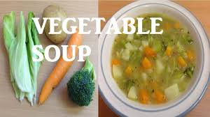 easy homemade chunky vegetable soup