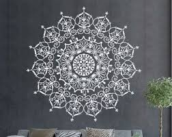 Mandala Wall Decal Etsy Wall Decals For Bedroom Mandala Decals Mandala Wall Art