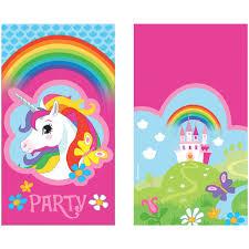 Invitaciones Unicornio 8 Por Solo 2 99 Tienda Online Envio